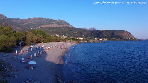 agios nikolaos beach mani greece