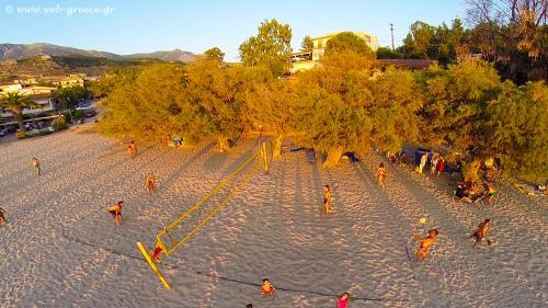 beach volley kalogria beach stoupa messinia